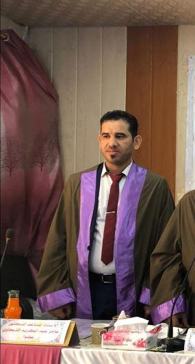 الاستاذ المساعد الدكتور عامرعبدكريم الذبحاوي / معاون العميد للشؤون الادارية والمالية