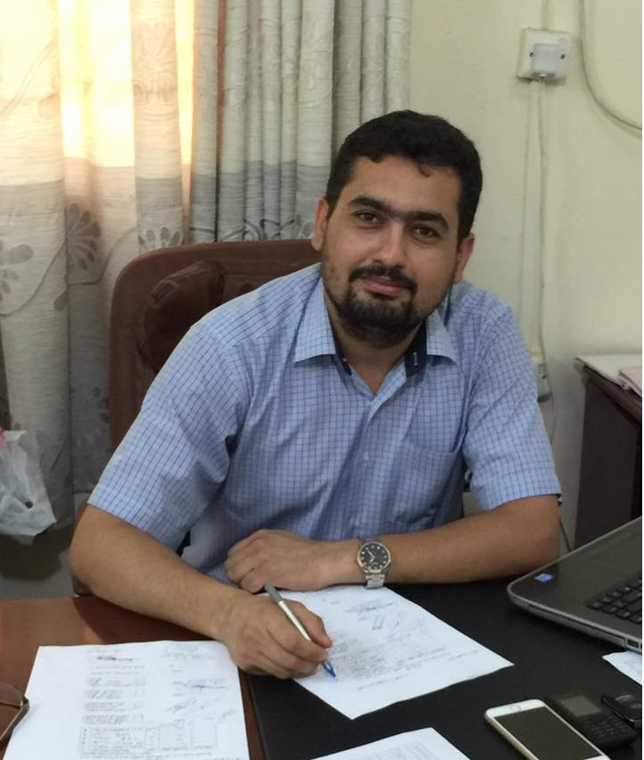 الاستاذ المساعد الدكتور ضرغام حسن العبدلي- رئيس قسم تقنيات المعلومات